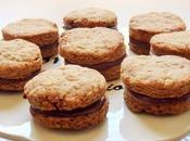 Biscuits fourrés chocolat sans oeuf, beurre lait (Vegan)