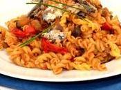 Torti légumes confits sardines.