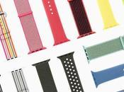nouveaux styles couleurs bracelets Apple Watch pour printemps
