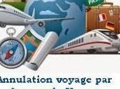 Voyage annulé comment faire rembourser