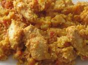Lentilles corail /boulgour l'indienne poulet