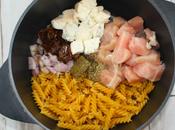 pasta poulet gorgonzola