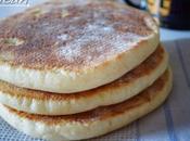 Matlouh, pain maghrébin pour sandwich magret
