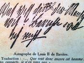 veut donc encore homme? autographe Louis Bavière