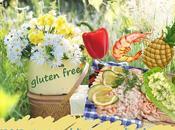 Recette rouleaux crevettes, surimi, ananas, poivron, salade (sans gluten)