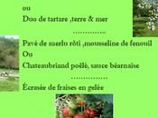 Menu Fraîcheur