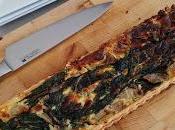 Tarte blettes parmesan