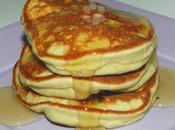 PANCAKES BANANE-MYRTILLES HEALTHY sans lait gluten