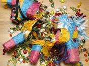 mise place d'une piñata pour fête d'anniversaire inoubliable