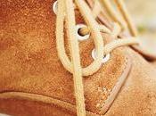Comment sauver chaussures daim teintées?