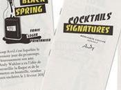 carte cocktails imaginée comme fanzine Ich&Kar