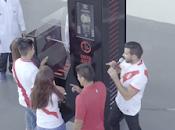 Pérou, créativité publicitaire service foot