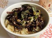 Haricots bourrache l'asiatique (Vegan)