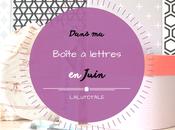 HAUL coeurs Juin, dans boîte lettres…