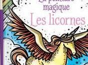peinture magique licornes