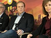 Rencontre avec Brad Bird, John Walker Nicole Grindle pour Indestructibles