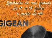 Gigean Festival Chapeau Artistes 2018