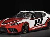 Toyota Supra nouvelle voiture NASCAR