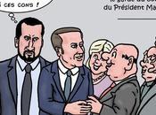 Alexandre Benalla, garde corps Macron