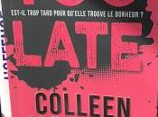 Late Colleen Hoover