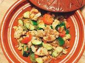 Faux tajine safrané légumes grillés