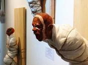 sculptures tourmentées Miguel Ángel Vigo Baleirón
