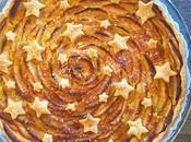 Tarte pommes étoilée
