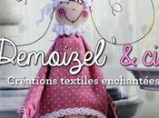 Livre Demoizel' compagnie Créations textiles enchantées
