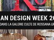 Milan Design Week 2018 Visite dans galerie culte Rossana Orlandi