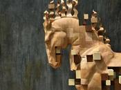 sculptures déstructurées bois Tung