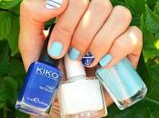 Blue Nail avec Polish Kiss