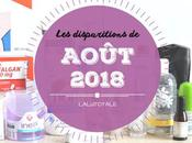 disparitions Août 2018