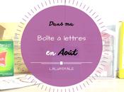 Haul coeurs Août Boîte lettres résumé mois