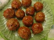 Boulettes viande cuites four baked meatballs albóndigas horneadas كويرات الكفتة الفرن