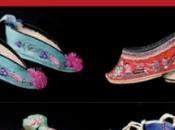 lotus d'or l'art petite chaussure dans chine ancienne