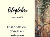 Blogtober essentiels l'automne pour cheval