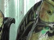 Thaïlande,Quand cornes buffles deviennent œuvres d'art