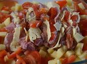 Rôti porc orloff pommes-de-terre