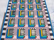 incroyable fresque murale New-York Camille Walala