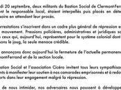 Fermeture Bastion Social Clermont-Ferrand JOIE (merci #CARA