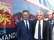 Région Normandie Découverte train OMNEO Premium site Bombardier Crespin (59)
