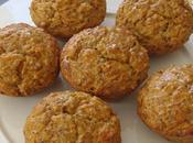 Muffins comté/carottes/noix