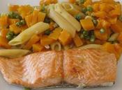 pasta saumon/butternut