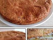 Gâteau pommes noix coco