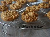 cookies l'avoine noix