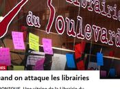 fascistes redoutent rien tant livres… Solidarité #antifa avec Librairie Boulevard #Genève