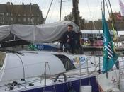 Jossier bateau ManOrga sont arrivées Saint-Malo