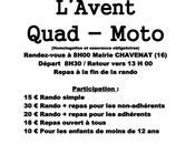 Rando Quad-moto l'association Quad Nature Chavenat (16), décembre 2018