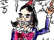 Caricature Cédric Villani