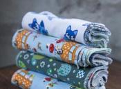 Coudre lingettes lavables quels tissus choisir?